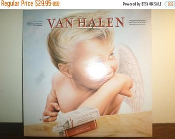 Save 30% Today Vintage LP Record Van Halen 1984 Near Mint Condition Warner Brothers Records 10957