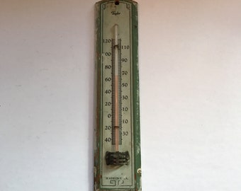 ON SALE!!Vintage Taylor Wall Thermometer