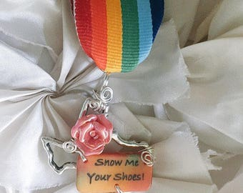 Fiesta Medal - Show Me Your Shoes