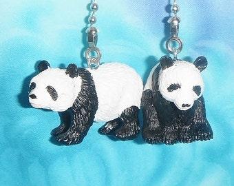 Set of Two ~ Panda Bears ~ Ceiling Fan/Light Pulls
