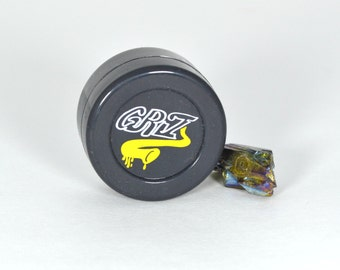 Griz 38mm Silicone Container Black(FREE SHIPPING/TRACKING)