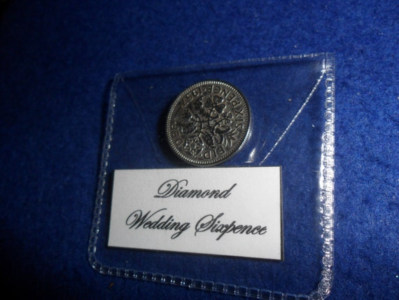 Wedding Gifts For 60 Year Olds : Diamond Wedding Anniversary Gift 60th Wedding Present 1957