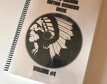 GUIDO BALDINI Tattoo stencils book #1