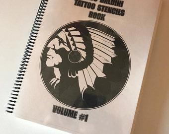 GUIDO BALDINI Tattoo stencils book #1