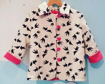 Birds are dancing jacket