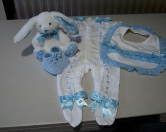 baby boy gift set     baby shower gift.    coming home outfit.    holiday wear
