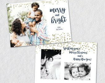 Christmas Card Templates for Photographers, Photo Christmas Card Templates, Christmas Card Templates for Photographers