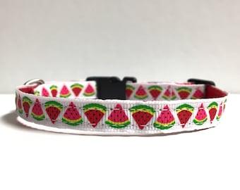 "3/8"" Watermelon collar"