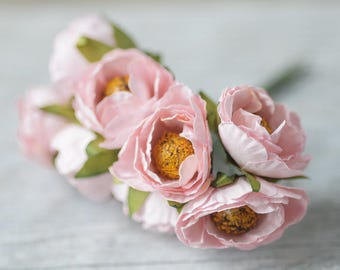 Small Pink Flowers Wedding Decor Wedding Flowers Artificial Flowers Craft Flowers Wreath Flowers Bouquet Flowers Home Decor DIY Craft Supply