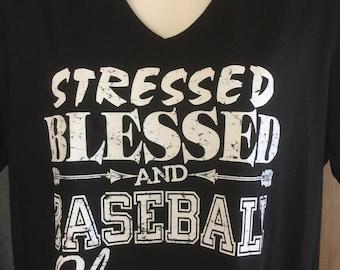 Stressed Blessed Baseball Obsessed