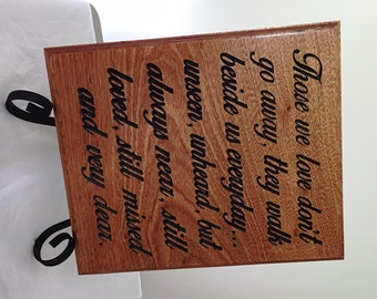 In Loving Memory, Wedding Tribute, Remembrance Gift Plaques Carved Memorial Sign Honor Deceased Love Ones At Your Wedding Memorial Ideas