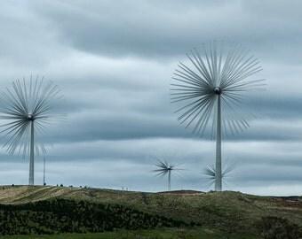 Fine Art Photography, Ireland, Wind Turbines
