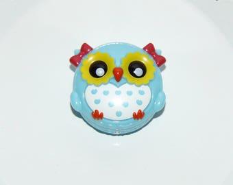Cute Blue Owl Lip Gloss... Its a Hoot!!