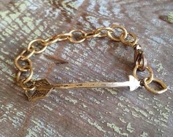 Arrow Bracelet, Bohemian Hippie Gypsy Cowgirl Wanderlust Roam Bracelet