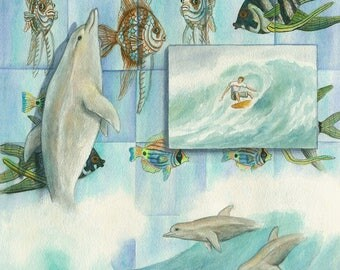Kaleidoscope Dolphin Dance