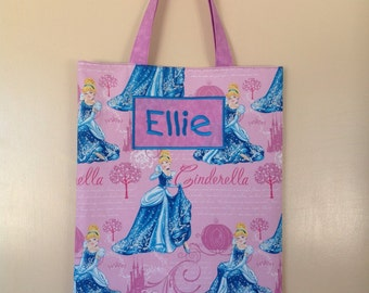 Cinderella Personalised Library Bag