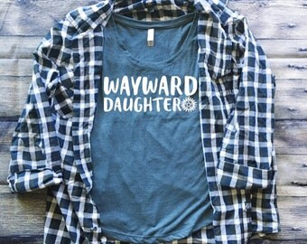 SALE | Wayward Daughter Shirt | Supernatural Shirt | Anti Possession Tattoo Shirt | Southern Sweetheart Gifts