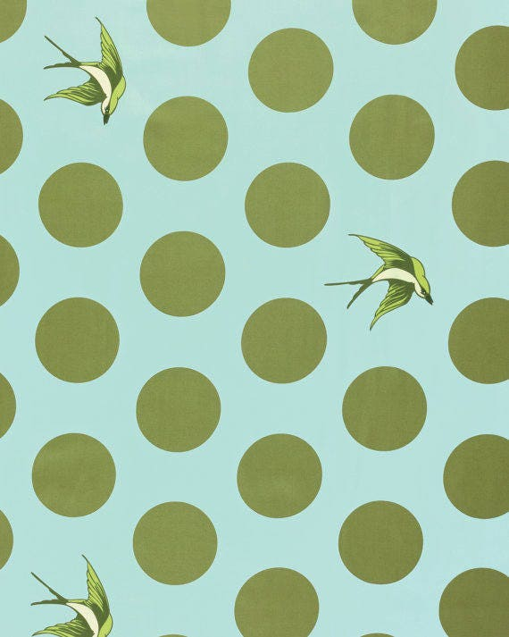 """FREE FALL SKY Green Duckegg blue 108"""" Wide Backing Tula Pink Sold in 1/2 yd increments"""