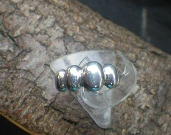 Sterling Silver Unusual Bobble Ring Teen Ring Childs Ring