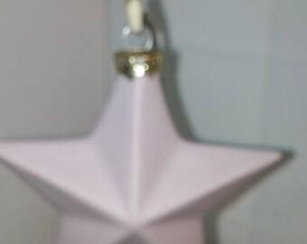 Large Star Porcelain Ornament