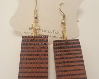 Sapele Earrings
