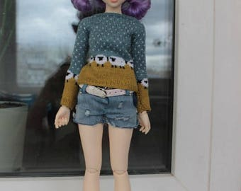 Sweater for Minifee,MSD, 1/4 BJD
