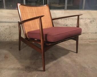 Ib Kofod-Larsen Danish Mid-Century Modern Chair - RARE