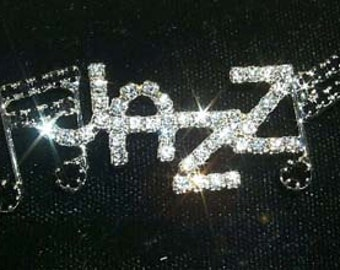 Jazz with Notes Pin #11092