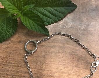 Sale!! Silver bracelet,Eternity bracelat,Chain made of silver