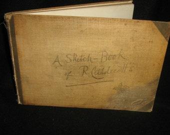Randolph Caldecott's.A Sketch book 1883