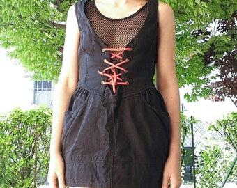MOSCHINO black vintage dress