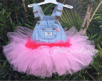 Overall Tutu Dress