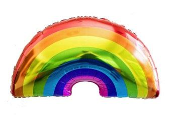 Rainbow Mylar Balloon 36 inch