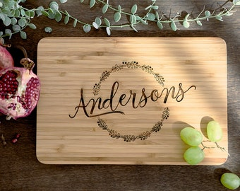 Personalized Cutting Board Personalized Custom Cutting Board Wedding Gift Cutting Board Engraved Cutting Board Anniversary Cutting Board #19