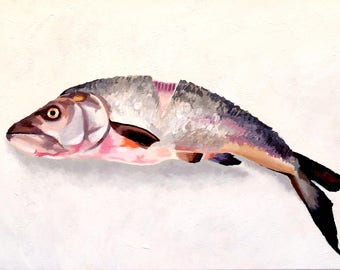 Original Acrylic Painting - Fish