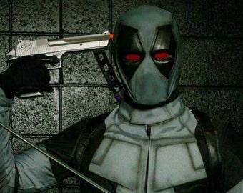 X-Force Deadpool / Standard Mask (Cosplay/Halloween/Costume) 2 Piece