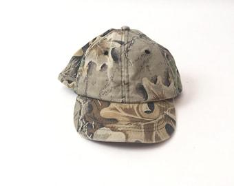 Vintage Camo Baseball Hat