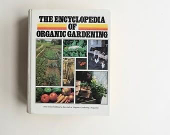 vintage of organic gardening book u002770s natural gardening