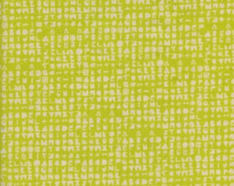 Flower Shop by Alexia Marcelle Abegg for Cotton and Steel - Fat Quarter- Cipher in Citron