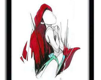 Affiche Ariel par Alexis Marcou