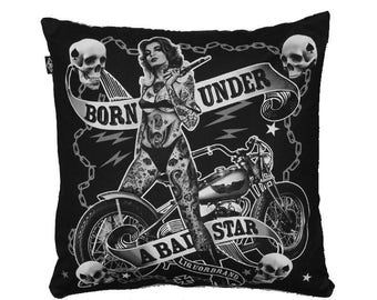 Star was Born Under pillow