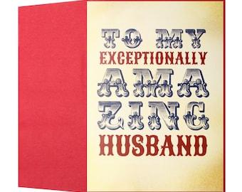 My Exceptionally Amazing Husband