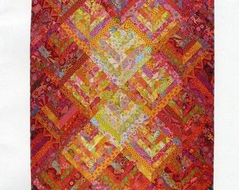 Candy Sticks Quilt Pattern from Allison Quilt Designs