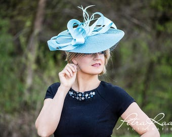 Hat Royal Ascot has ball Hat Kentucky-Derby horse racing has couture millinery Sinamay wedding Fascinator U2