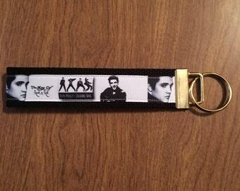 Elvis Presley Key Chain Zipper Pull