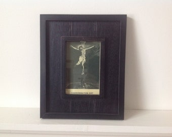 Consummatum Est /Antique Copy/ Framed Religious Print