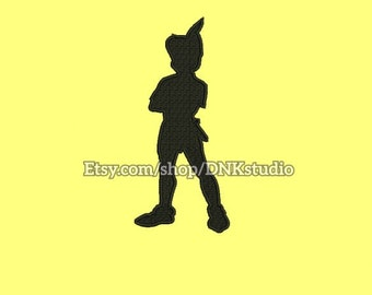 Peter Pan Disney Machine Embroidery Design - 5 Sizes - INSTANT DOWNLOAD