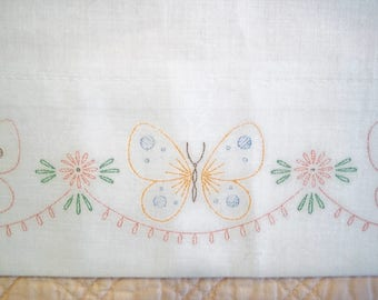 One Pillowcase to be Embroidered or Use As Is