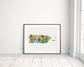 Colorful Prints: Places