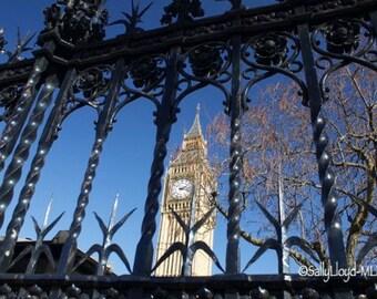 Big Ben in the Elizabeth Tower, London